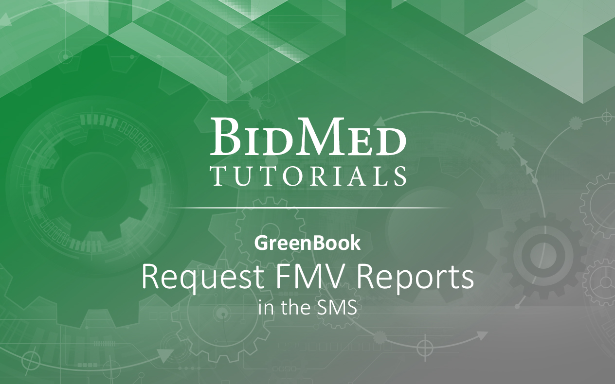 How to request GreenBook reports