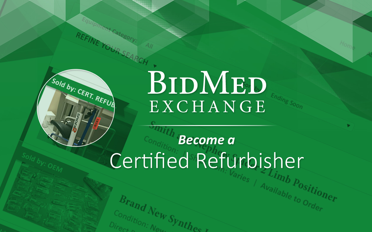 Become a Certified Refurbisher
