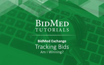 Tracking Bids – Am I Winning?