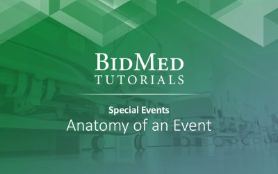Anatomy of Special Events