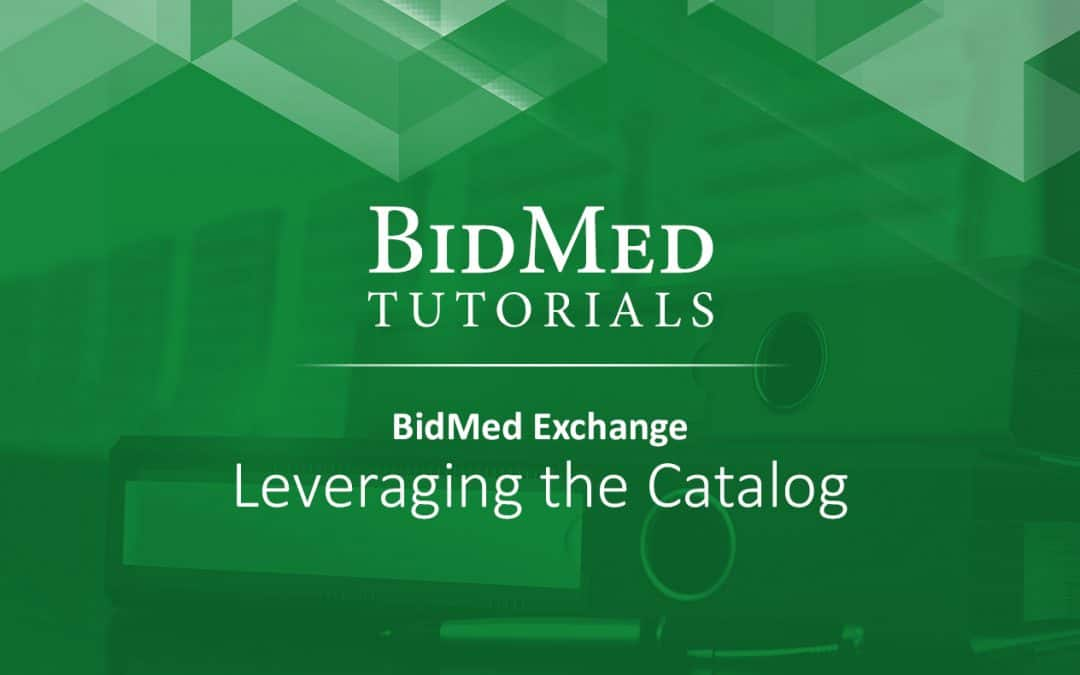 Find Secondary Market Medical Equipment on Demand with BidMed's Catalog